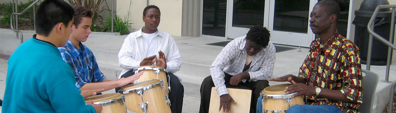 African Drums Class Slide