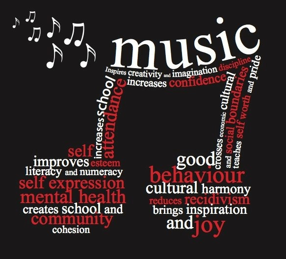 benefit of music essay