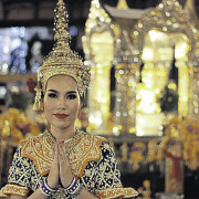 Thai Dancer at Erawan