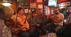 Irish Music Session