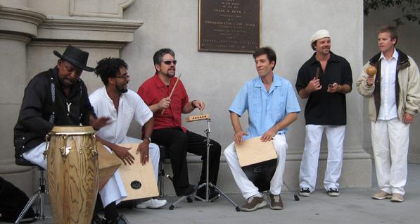 Mark Lamson - Afro-Cuban and Afro-Brazilian Drumming