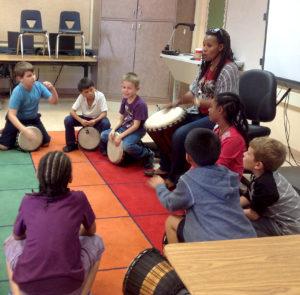 Nomsa Burkhardt at Garfield Elementary