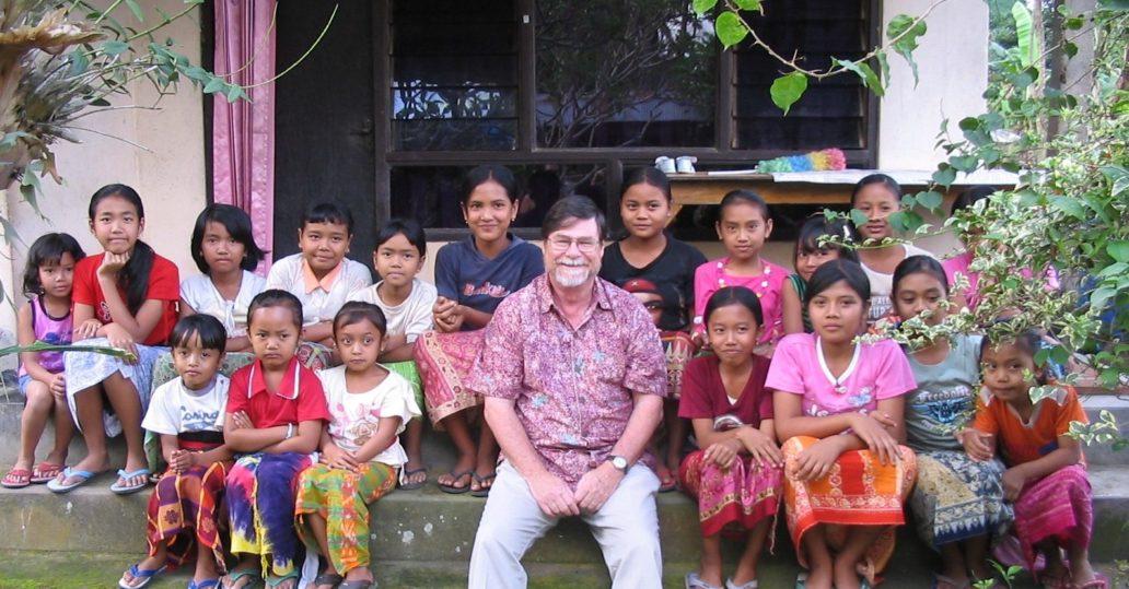 Lewis Peterman in Bali