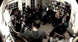 Traditional Irish Music House Session