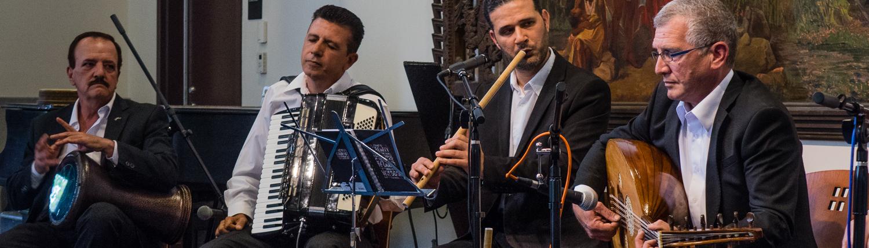 The Music House Ensemble, led by Fouad Sawa