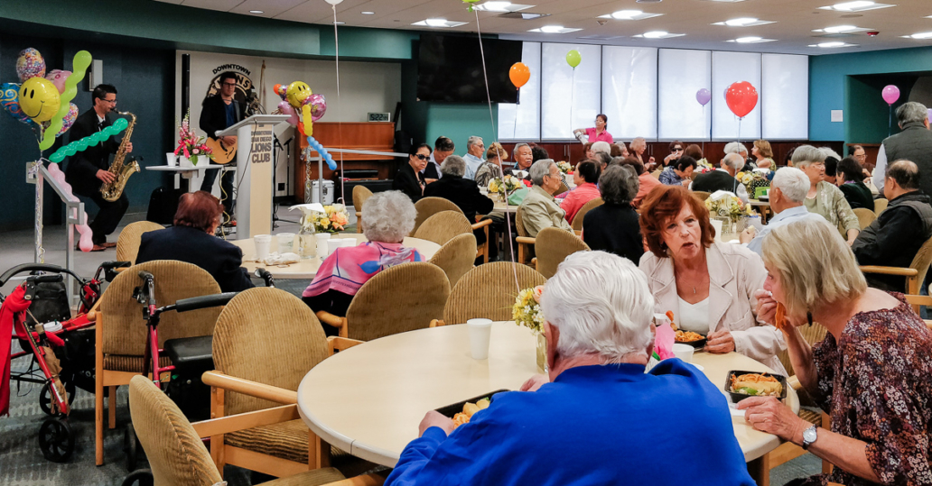 Access for Seniors program with Sole e Mar, Lions Community Manor