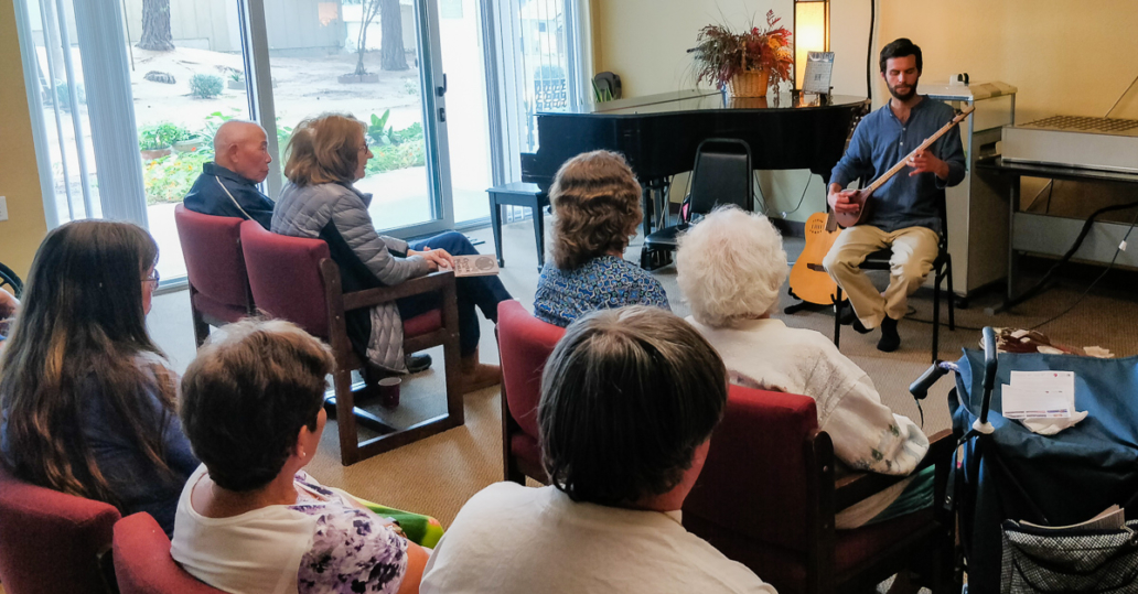 Access for Seniors program with Will Marsh, Sorrento Tower