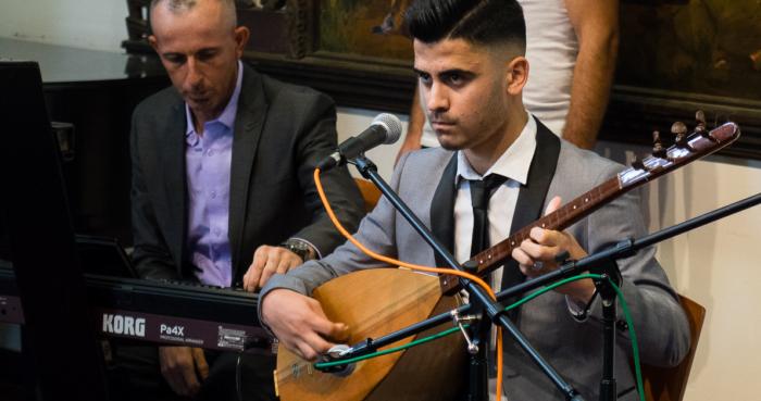 Syrian Refugee Musician Dlan Dary