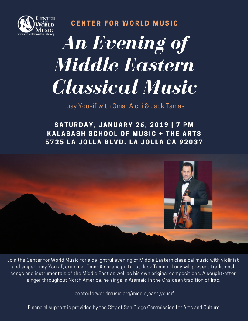 An Evening of Middle Eastern Classical Music | Center for